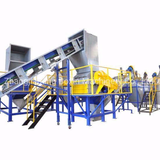 Automatic Waste Plastic PE Film PP Woven-Bag Jumbo-Bag Recycling Washing Machine/Plastic Granulator/Crusher/Crushing Machine