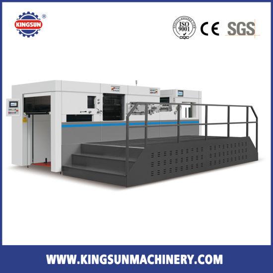 MHK-1050 Model Paper Carton Box Automatic Die Cutting Machine