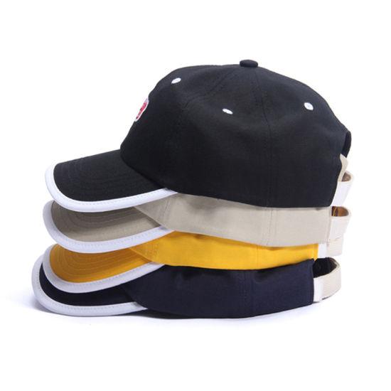 Unisex Flat/3dd Embroidery Logo Structured Baseball Hat Sport Cap