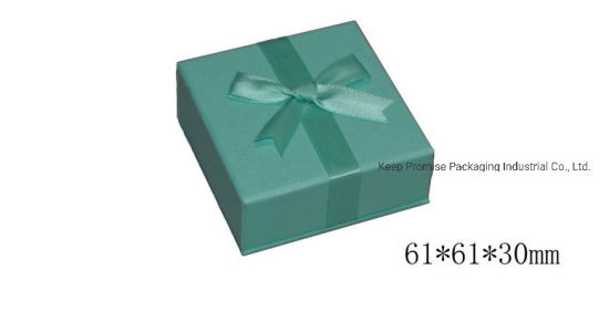 Butterfly Green Paper Gift Bangle Necklace Jewelry Box