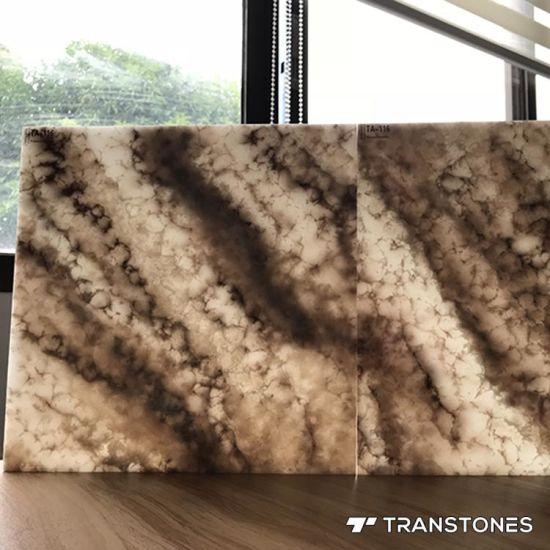 Backlit Onyx Alabaster Sheet for Bathroom Wall Panels
