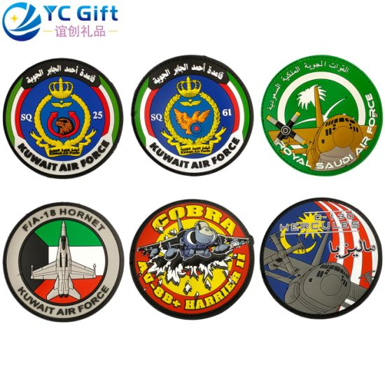 Custom PVC Rubber Personalized Clothing Label Patch Art Crafts Garment Accessories Military Navy Tactical Patches Police Uniform Decoration Embroidery Patch