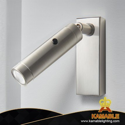 Hotel Project Alunminum Brushed Nickel Wall Light (KTT02-405W) pictures & photos