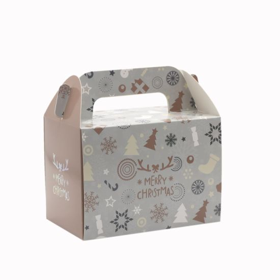 Christmas Cake Paper Cardboard Box with PVC Window pictures & photos