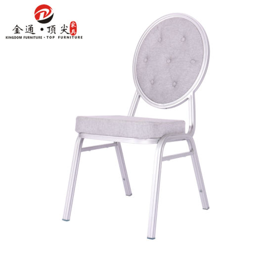 hotel banquet meeting room wholesale modern grey metal steel stackable chairs hotel