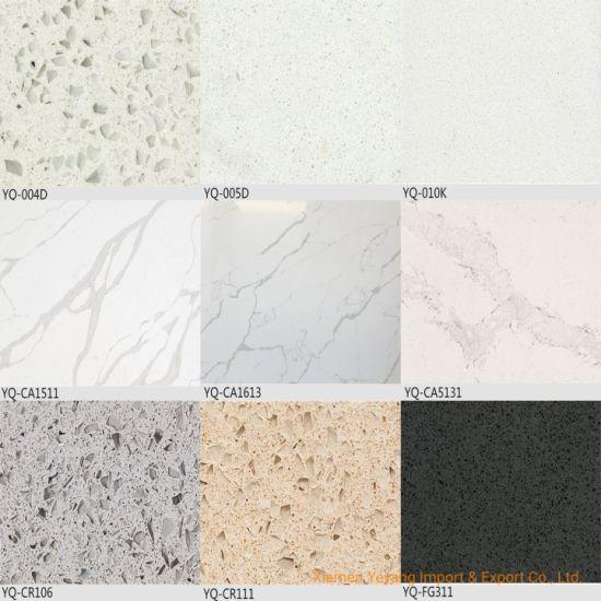 China Crystal Calacatta White Grey
