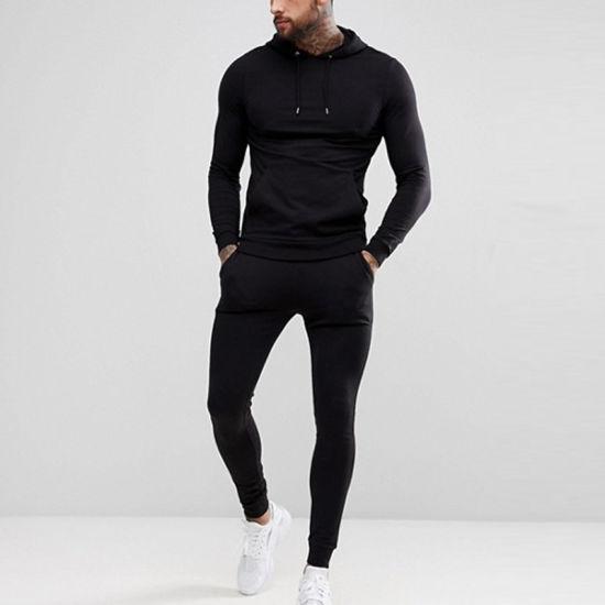 Wholesale Supplier Sport Tracksuit Custom Gym Mens Slim Fit Tracksuit