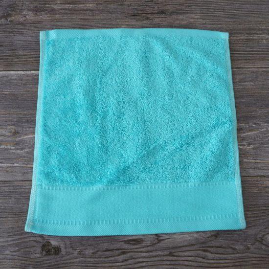 Promotion Blue 100% Terry Cotton Gift Face Shop Towel