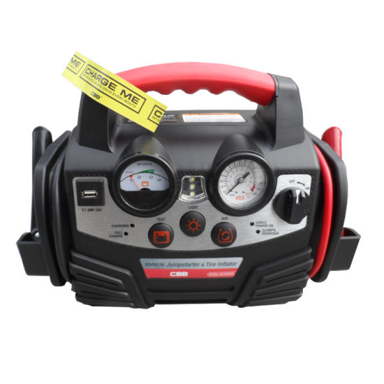 Popular Jump Starter with Air Compressor, Jump Starter Emergency Restart pictures & photos