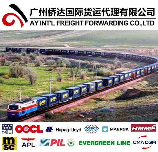 Container Shipping From Malaysia to Kazakhstan/Uzbekistan/Kyrgyzstan/Turkmenistan/Tajikistan Via China by Railway