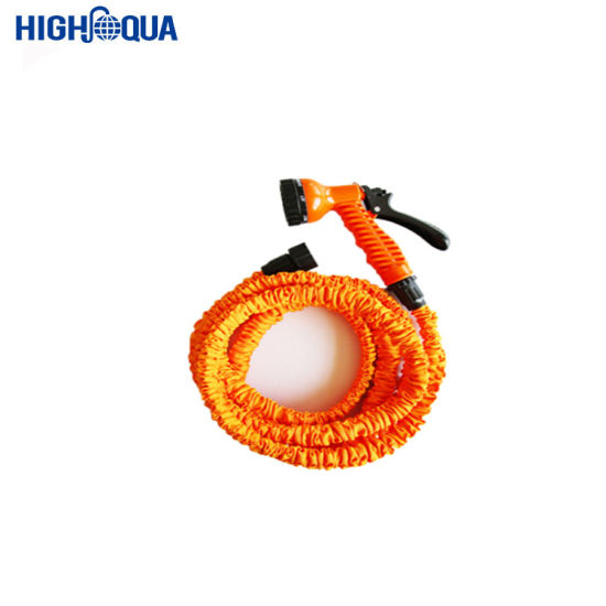 25FT-150FT Expandable PVC Garden Hose with 9 Functions Metal Nozzle Flexible, Gardening and Washing Hose