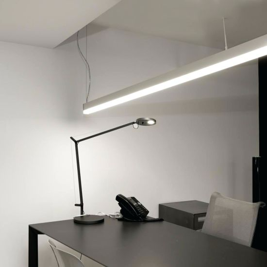 Indoor Office LED Linear Light 20W 40W 60W 80W Surface or Suspend Mounted LED Linear Light S5075pz