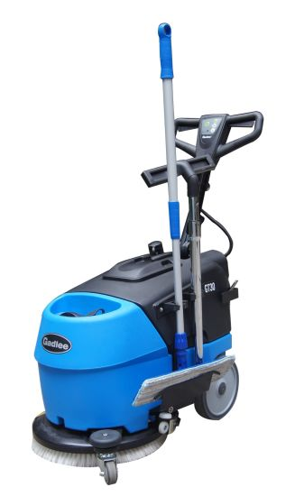 Automatic Compact Foldable Walk-Behind Cleaning Machine Eco Scrubber Dryer with Battery