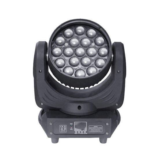Pinky Floyd 19PCS Moving Head Zoom LED Wash Light for DJ