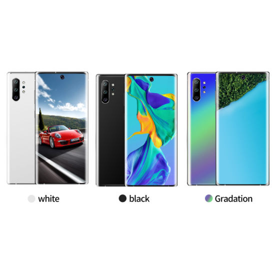Wholesale 5g New Cellphone for OEM Custom Mobile Phone Note10+ New Smart Phone 6.8-Inch 3G Android Phone