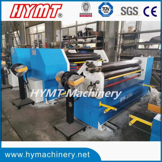 W11F-6X2000 Asymmetrical Mechanical Three Rollers Metal Plate Rolling Machine