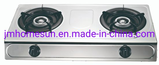 Hot Selling Stainless Steel Cast Iron Beehive Burner Double Burner Gas Stove    Item: HS-201 Gas Stove