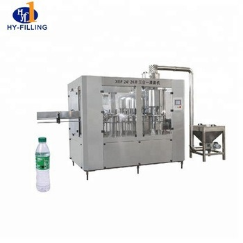 Factory Price Automatic Pure Mineral Drink Water Filling Machinery Liquid Filling Packing Machine pictures & photos