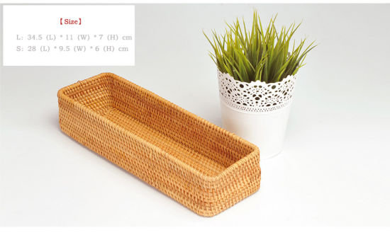 Simple and Light Rattan Basket with Great Price pictures & photos
