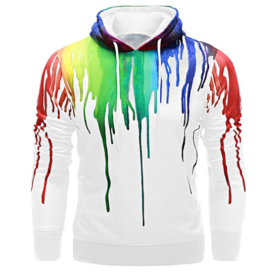 2019 New Fashion Tie Dyed Hoodie pictures & photos