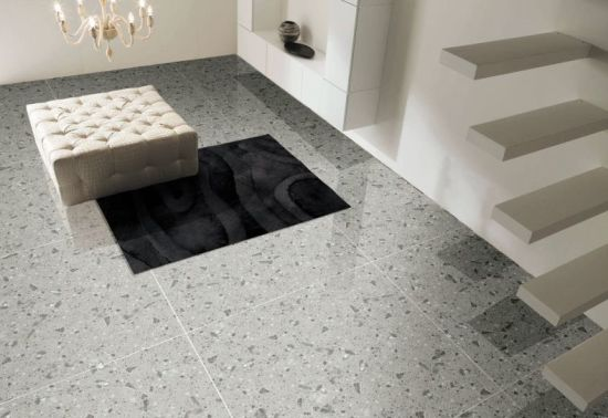 China Terrazzo Glazed Marble Polished Porcelain Floor Tiles