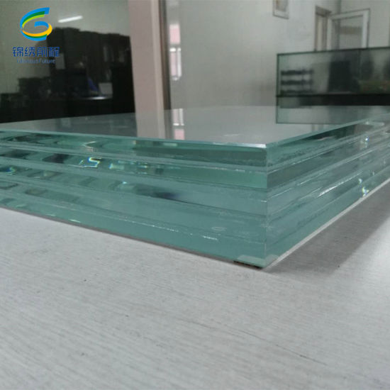 Customized Tempered Laminated Glass with Polished Edges