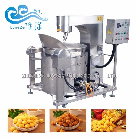 Factory Price Fully Automatic Commercial Kettle Popcorn Making Machine for Sale