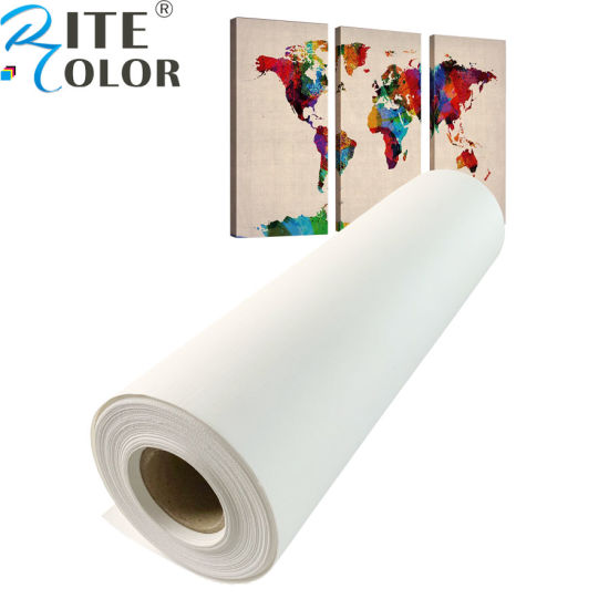 "Gallery Wrap GiClee/' Art Reproduction 24/"" roll Inkjet Polycotton Gloss Canvas"