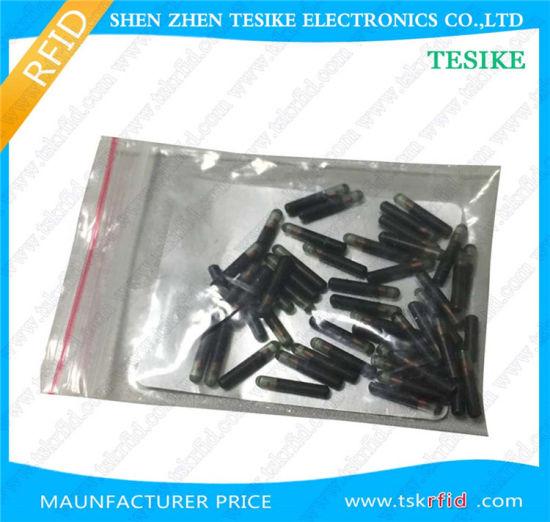 Pet Tracking RFID Microchip Glass Tube Tag Em4305