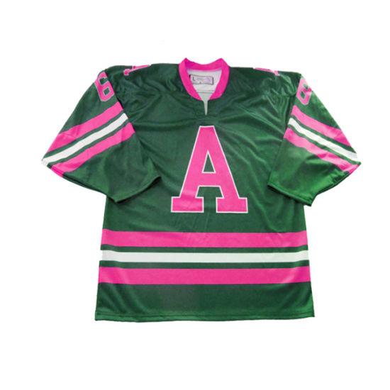 Sublimated International Latest Style Custom Ice Hockey Jersey Uniform for Adults