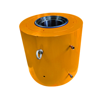 1000 Ton Double Acting Hollow Hydraulic Cylinder for Bridge Construction