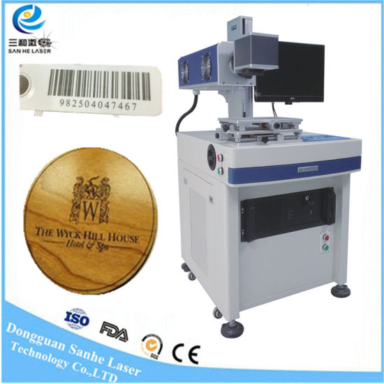 30W CO2 Laser Marking Machine Engraving Qr Code /Wood/ Plastic/Glass Sale