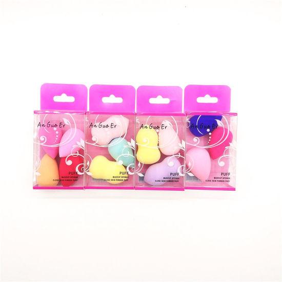New Arrival Cute Gourd Power Puff Set with Custom Box Makeup Sponge