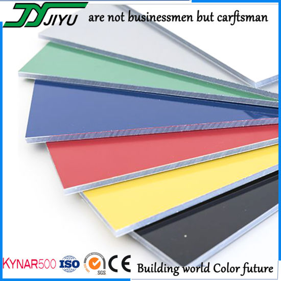 Outdoor 4mm Wall Cladding Decoration ACP Sheet for Construction Material