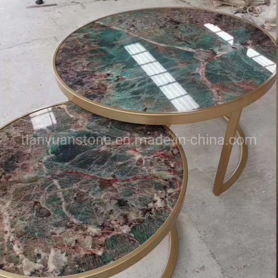 Granite/Marble Stone Round Coffee/Dining Table for Restaurant Table Furniture pictures & photos