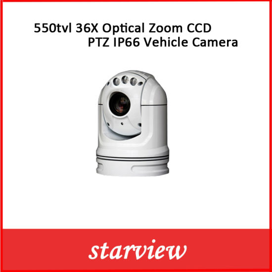 36X Optical Zoom PTZ Vehicle Camera pictures & photos