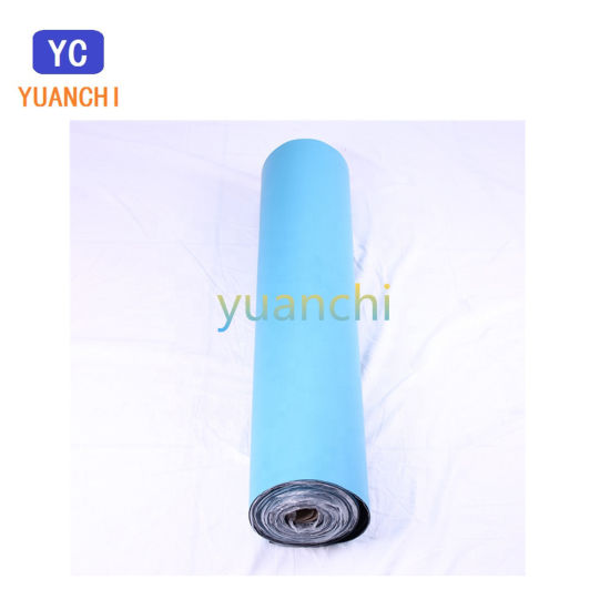 China Black Blue Color Double Layers Anti-Static Rubber