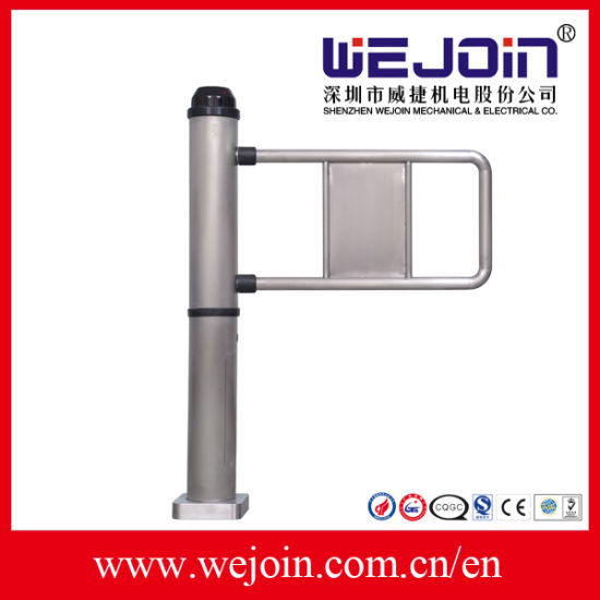 Facial Recognition Infrared Sensor Fast Speed Automatic Swing Turnstile Gate for School