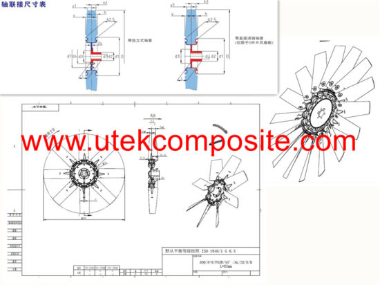 China Airfoil Profile Fan For Hovercraft China