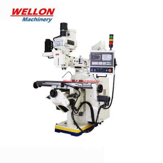 Knee Type CNC Turret Milling Machine Xk6323A Universal CNC Milling Machine