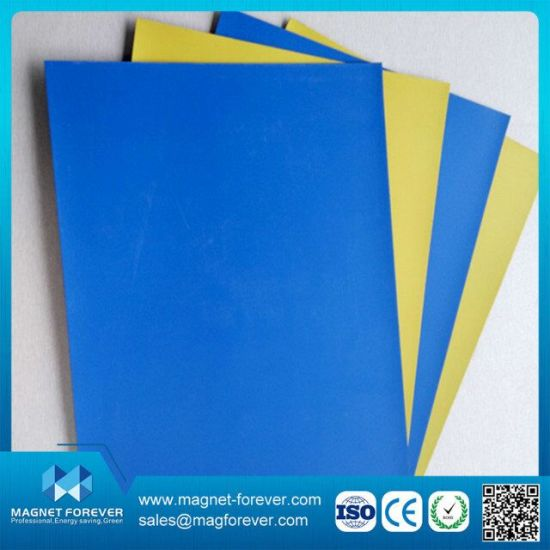 China Colored Magnetic Sheets, Isotropic Rubber Magnet with Color ...