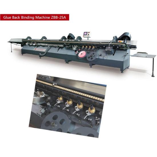 China New Technology Auto Book Paper Gluing Machine China Exercise