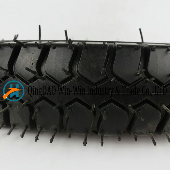 Pneumatic Rubber Wheel Used on Platform Trucks Wheel (4.00-12) pictures & photos