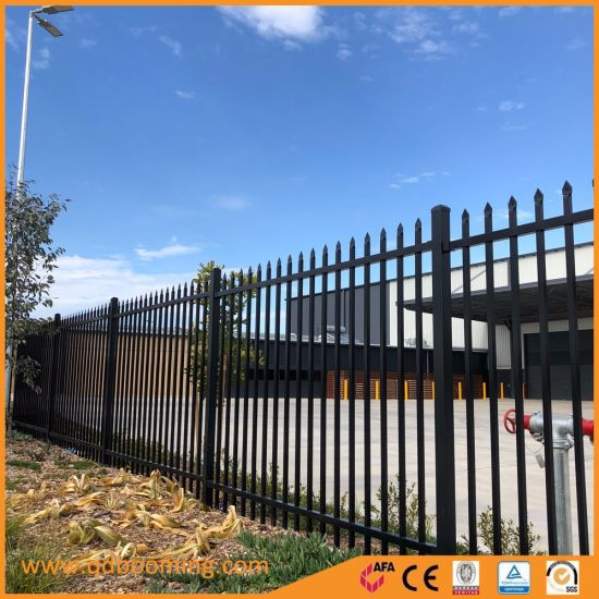 Garden/Playground Powder Coated Galvanized Steel Fencing Panel