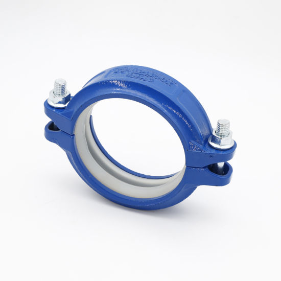 Ductile Iron Grooved Pipe Fittings Flexible Couplings/ Angle Pad Couplings