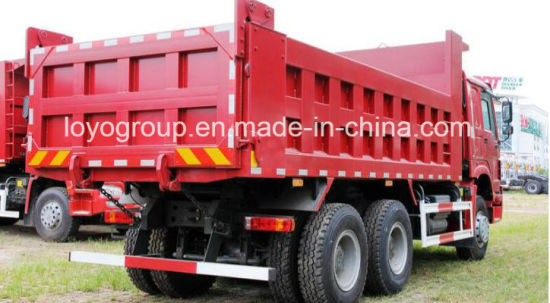 Sinotruk HOWO Dump Truck 6*4 371HP pictures & photos