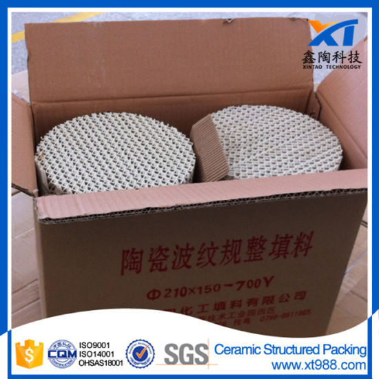 Xintao Ceramic Structured Tower Packing pictures & photos