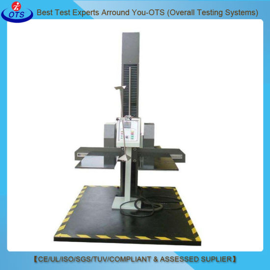 China Two Wings Drop Impact Test Machine for Plastic Bumping
