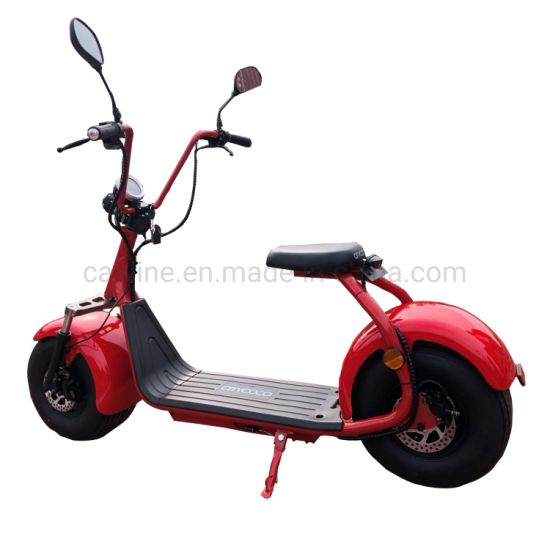 EEC Approved Electric Scooters Motorcycle with Lithium Battery for Adult