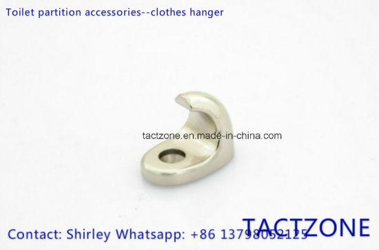 Good Heavy Bathroom Partition Fittings Hardware Zinc Alloy Hook
